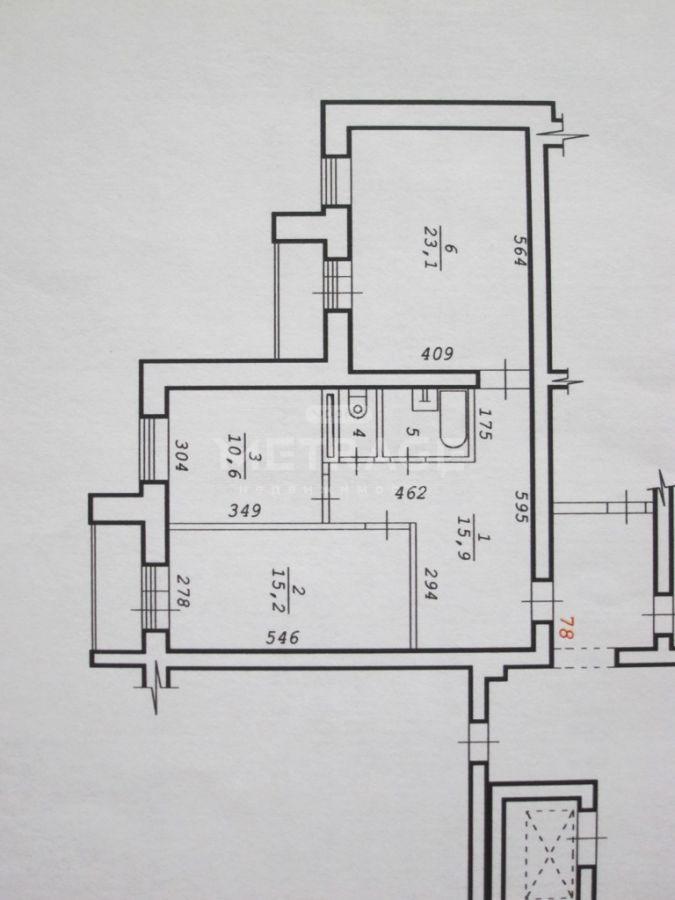 Петухова, 150, 2-комнатная квартира